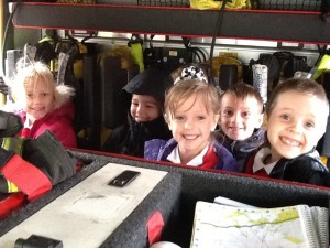in fire engine