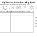 Weather record